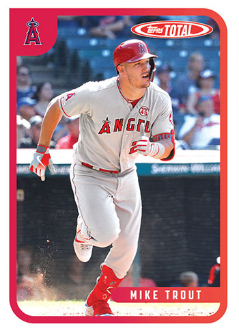 2020 Topps Total Baseball Mike Trout