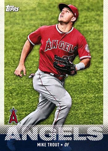 2020 Topps Utz Baseball Mike Trout