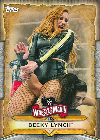 2020 Topps WWE Road to WrestleMania Becky Lynch