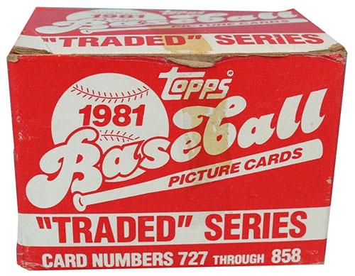 1981 Topps Traded Baseball Set