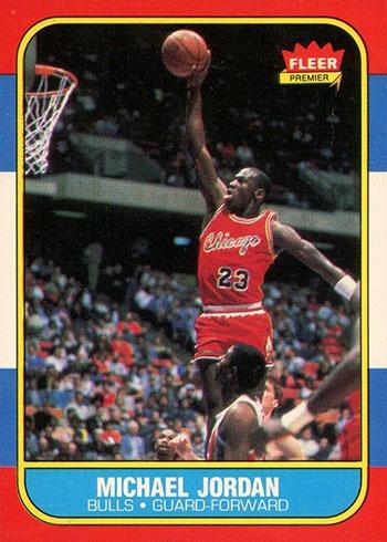 1986-87 Fleer Michael Jordan Rookie Card
