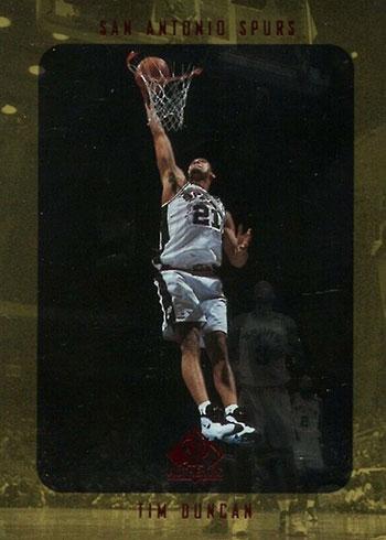 1997-98 SP Authentic Tim Duncan Rookie Card