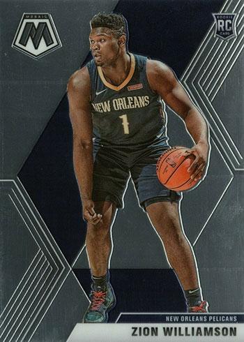 2019-20 Panini Mosaic Zion Williamson Rookie Card