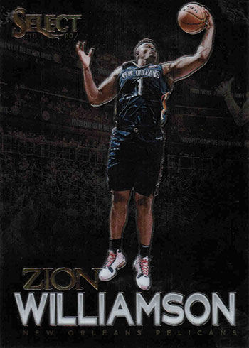 2019-20 Select Basketball Artistic Selection Zion Williamson