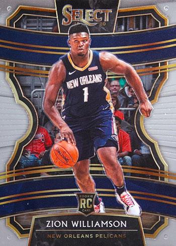 2019-20 Select Basketball Zion Williamson RC