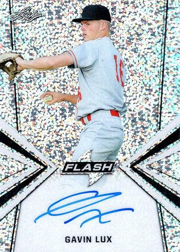 2019 Leaf Flash Baseball Gavin Lux Autograph