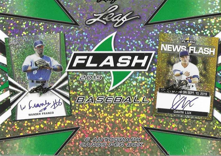 2019 Leaf Flash Baseball Hobby Box