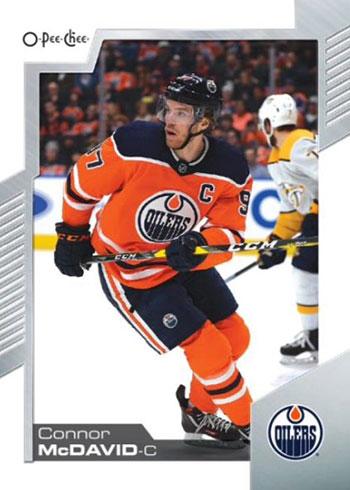 2020-21 O-Pee-Chee Hockey Connor McDavid