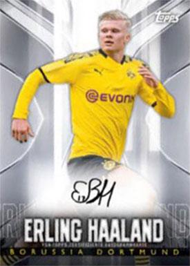 2020 Topps BVB Transcendent Erlic Haaland Autograph