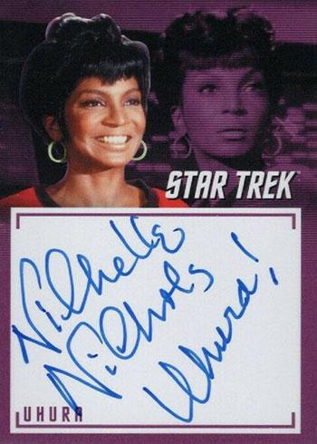 2019 Rittenhouse Star Trek Archives and Inscriptions Nichelle Nichols Inscription Autograph