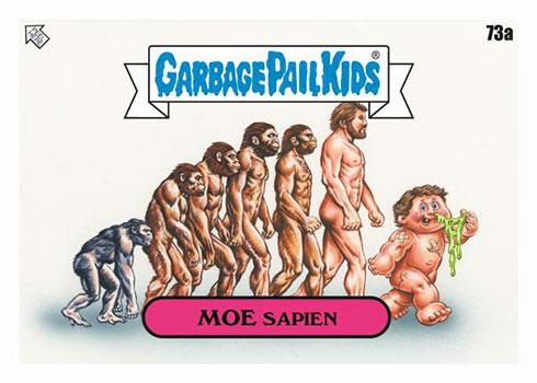 2020 Topps Garbage Pail Kids 35th Anniversary Moe Sapien