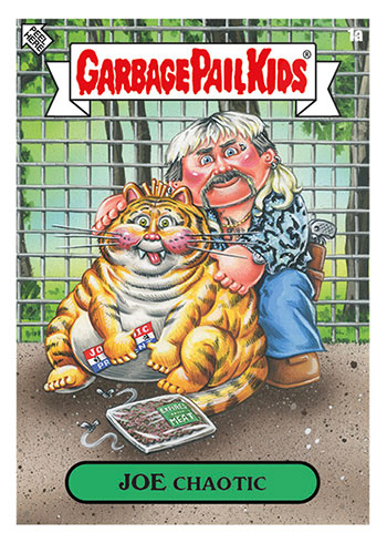 2020 Topps Garbage Pail Kids Gone Exotic 1a