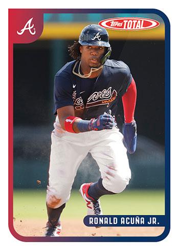 2020 Topps Total Baseball Ronald Acuna Jr.
