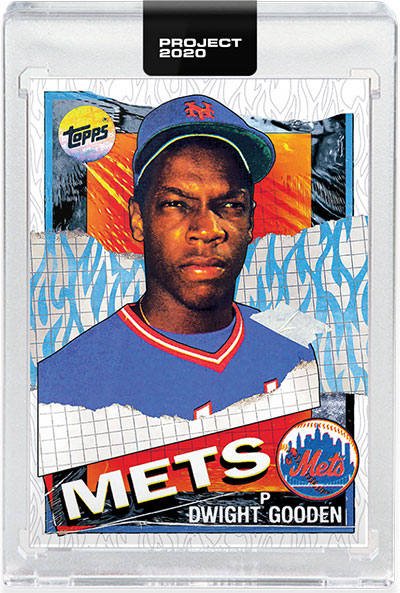 Topps Project 2020 12 Dwight Gooden by Tyson Beck