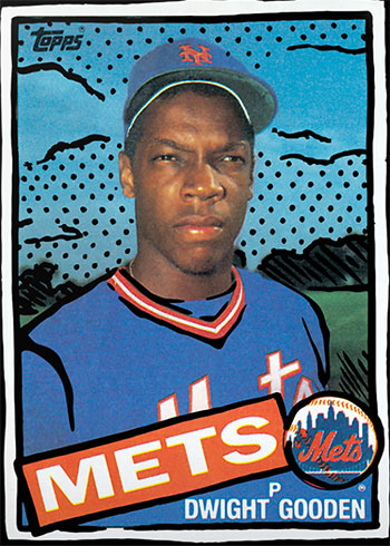 Topps Project 2020 26 Dwight Gooden by Joshua Vides
