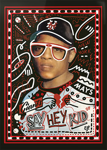 Topps Project 2020 27 Willie Mays by Efdot