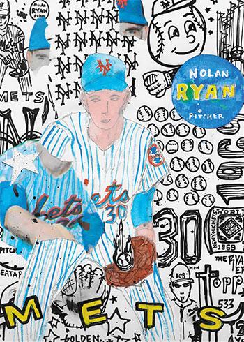 Topps Project 2020 30 Nolan Ryan