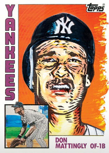 Topps Project 2020 33 Don Mattingly by Blake Jamieson