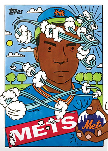 Topps Project 2020 37 Dwight Gooden by Ermsy