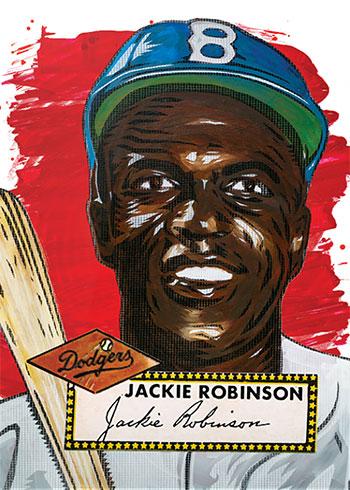 Topps Project 2020 42 Jackie Robinson by Blake Jamieson