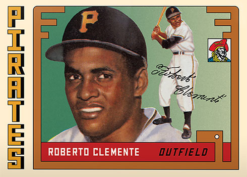 Topps Project 2020 45 Roberto Clemente by Grotesk