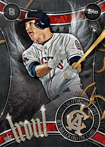 Topps Project 2020 51 Mike Trout by Ben Baller