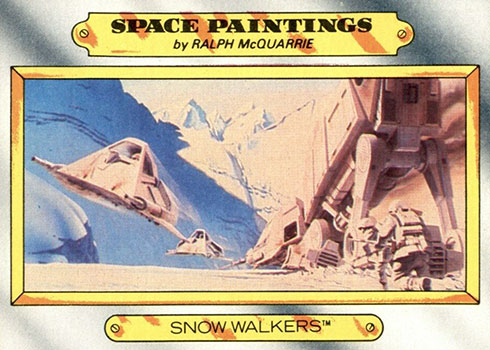 1980 Topps Empire Strikes Back Space Paintings