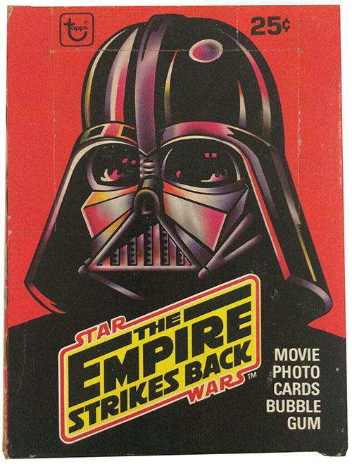 1980 TOpps Empire Strikes Back Series 1 Box