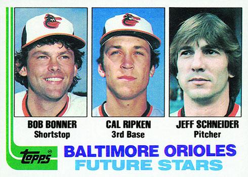 1982 Topps Baseball Cal Ripken Jr. Rookie Card
