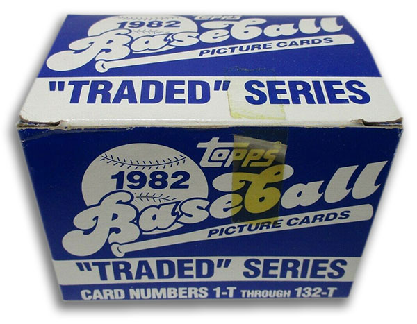 1982 Topps Traded Baseball Set