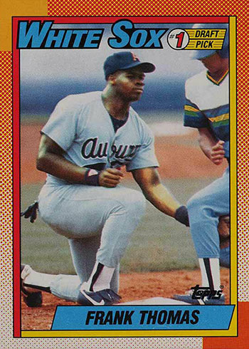 1990 O-Pee-Chee Frank Thomas Rookie Card