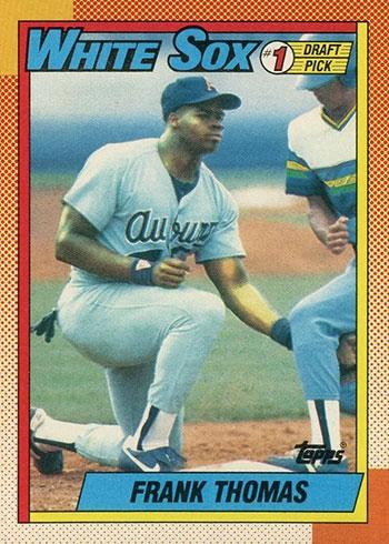 1990 Topps Frank Thomas Rookie Card