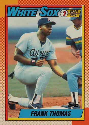 1990 Topps Tiffany Frank Thomas