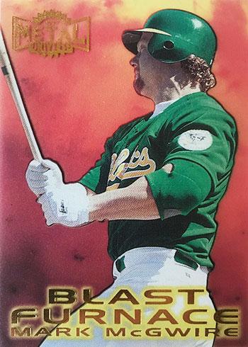 1997 Metal Universe Baseball Mark McGwire