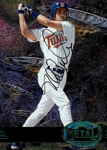 1997 Metal Universe Baseball Emerald Autographs Todd Walker
