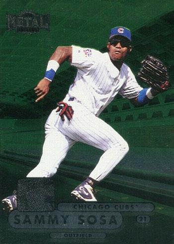 1998 Metal Universe Baseball Sammy Sosa