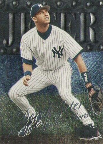 1999 Metal Universe Baseball Derek Jeter
