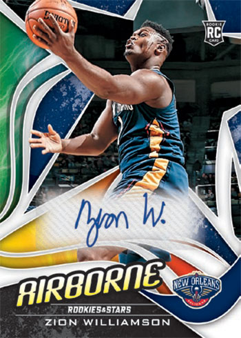 2019-20 Panini Chronicles Basketball Airborne Signatures