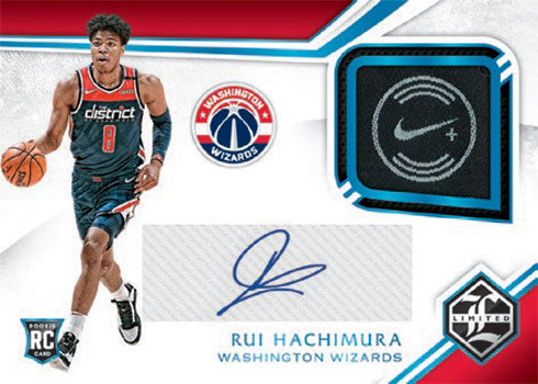 2019-20 Panini Chronicles Basketball Limited Rookie Jersey Auto Super Prime