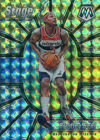 2019-20 Panini Mosaic Basketball Center Stage Bradley Beal