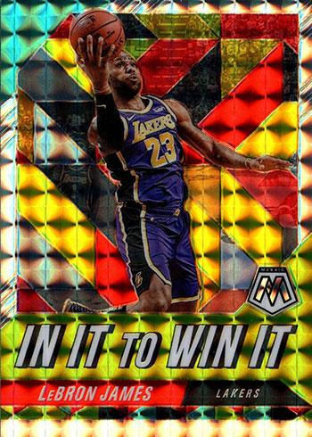 2019-20 Panini Mosaic Basketball In It to Win It LeBron James