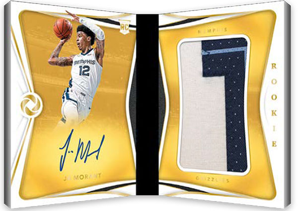 2019-20 Panini Opulence Basketball Rookie Patch Autographs Booklets