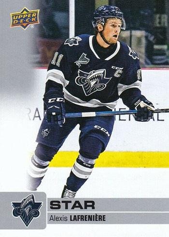 2019-20 Upper Deck CHL Hockey Alexis Lafreniere