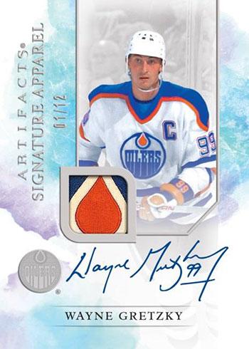 2020-21 Upper Deck Artifacts Hockey Signature Apparel