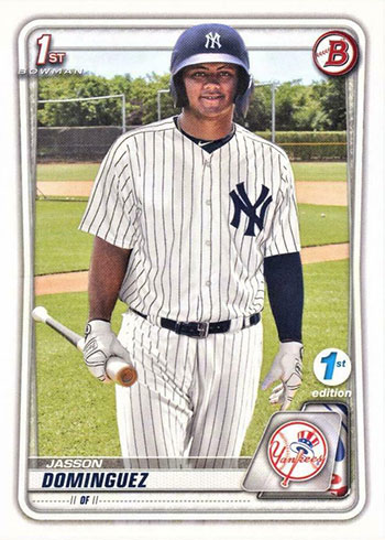2020 Bowman 1st Edition Jasson Dominguez