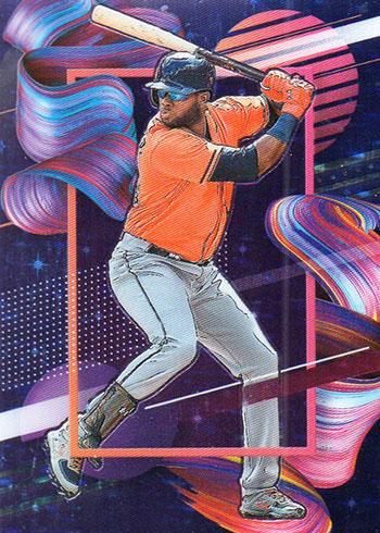 2020 Panini Select Baseball Artistic Impressions Yordan Alvarez