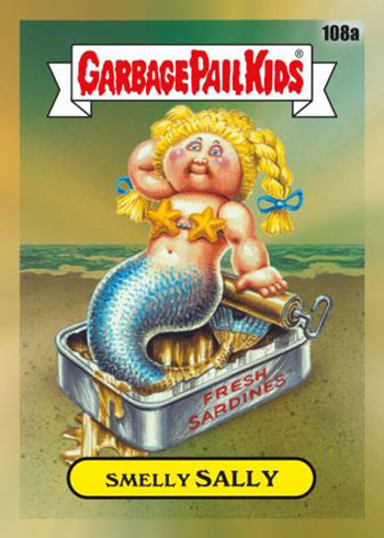 2020 Topps Garbage Pail Kids Chrome Gold Refractors