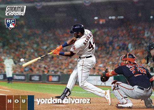 2020 Topps Stadium Club Baseball Yordan Alvarez