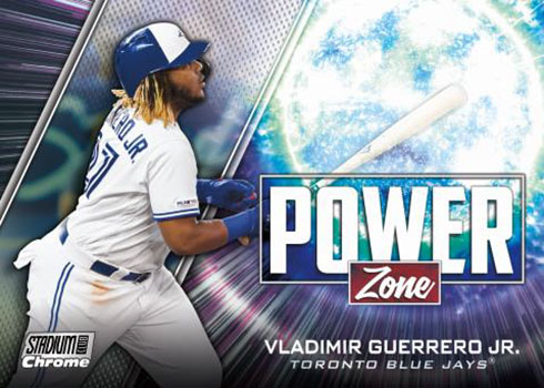 2020 Topps Stadium Club Baseball Power Zone