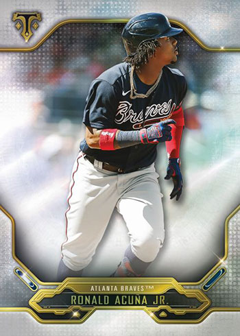 2020 Topps Triple Threads Baseball Ronald Acuna Jr.